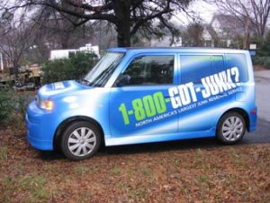 honda-element-in-the-1-800-got-junk-wrapping