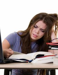 Stress Teen Schlafmuster