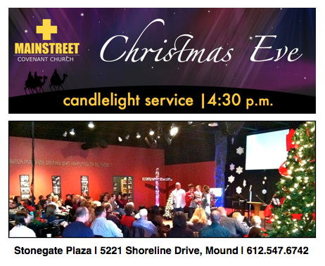 Christmas Eve at MainStreet!