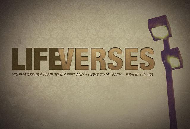 Life Verses 2: Phil 3:13-14