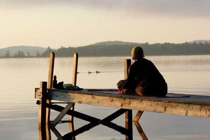 WWJD: Go Sit by a Lake!