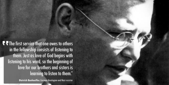 A Hymn for the Suffering by Dietrich Bonhoeffer