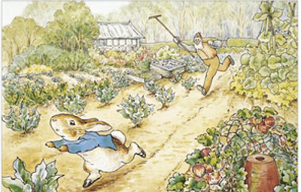 Peter Rabbit in the Garden of Eden