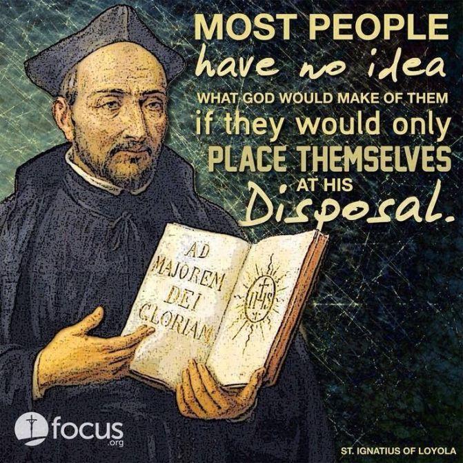 A Prayer of St. Ignatius