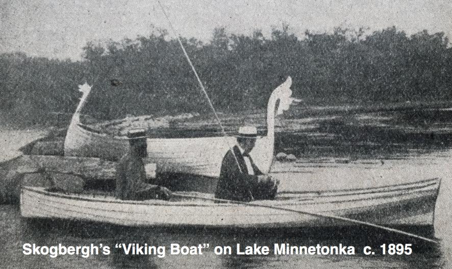 Skosbergh's Viking Boat-1894