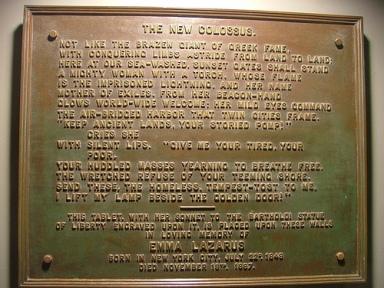 Bronze-plaque-of-New-Colossus